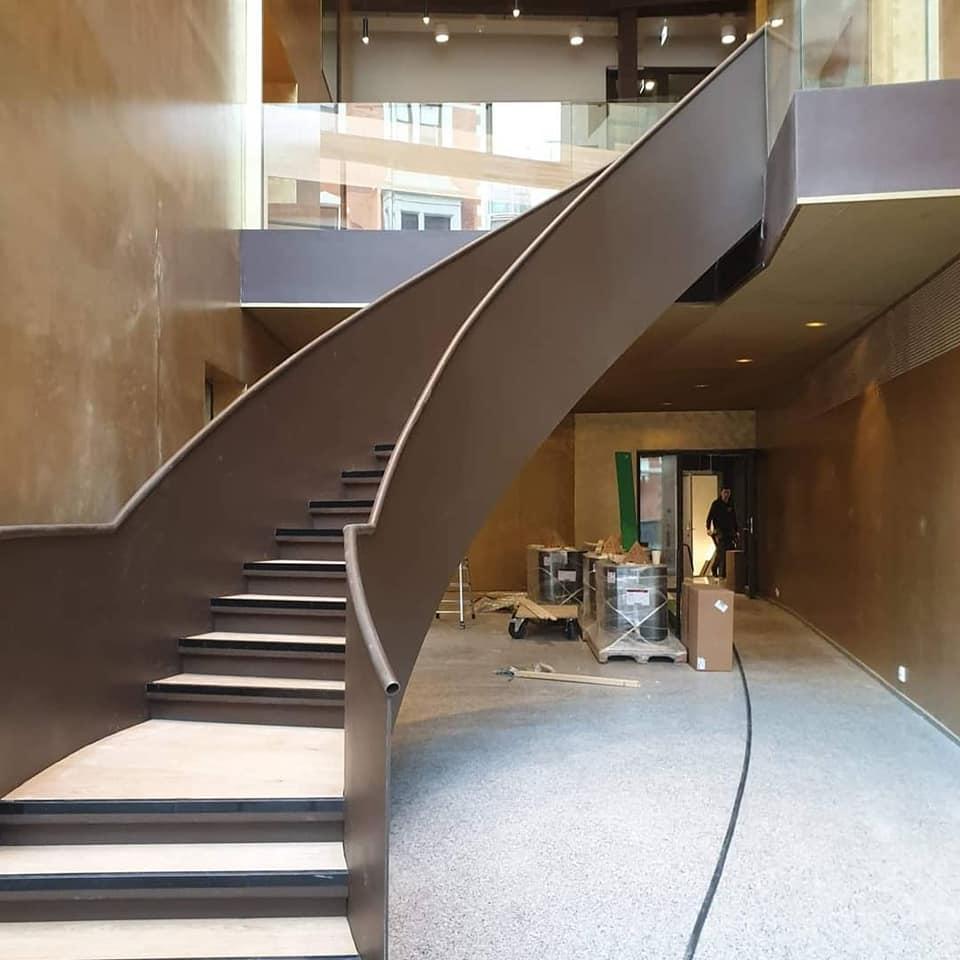 byggavdeling trapp bergen mekaniske